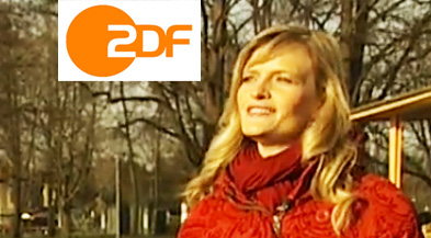 Sabrina DiAngelo im ZDF – Making of… plus Video