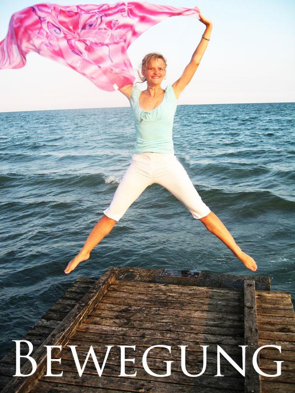 Sabrina DiAngelo springt in die Luft