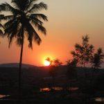 Sunset in Hampi/ India