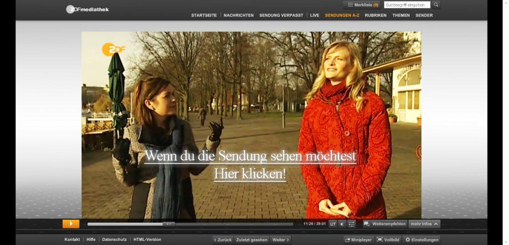 Sabrina DiAngelo im ZDF