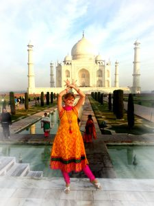 Sabrina DiAngelo Taj Mahal Agra