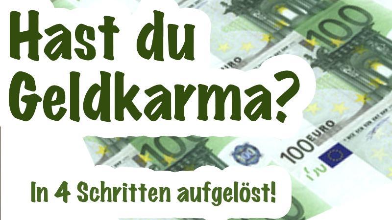 Hast du Geldkarma?